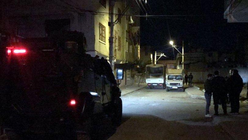 SON DAKİKA: Mersin'de boş arazide patlama