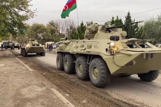 Azerbaycan Ordusu 27 yıldır sonra Kelbecer'de!