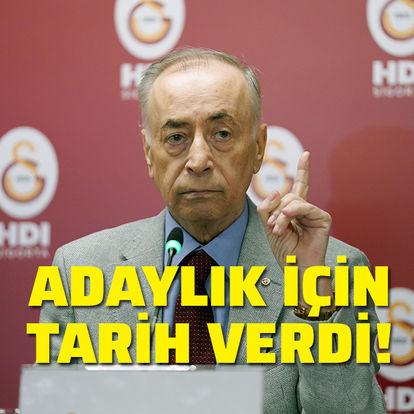 Son dakika! Mustafa Cengiz, adaylık için tarih verdi!