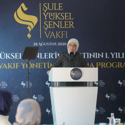 Son dakika haberler... Emine Erdoğan'dan şiddete karşı uyarı - Haberler