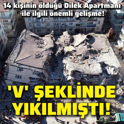 Son dakika: 14 kişinin öldüğü Dilek Apartmanı ile ilgili önemli gelişme! - Haberler