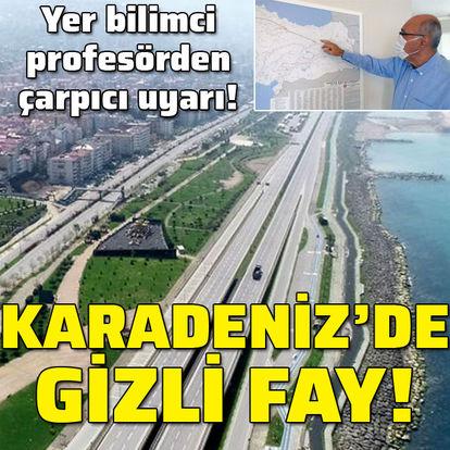 Çarpıcı uyarı: Karadeniz'de gizli fay!