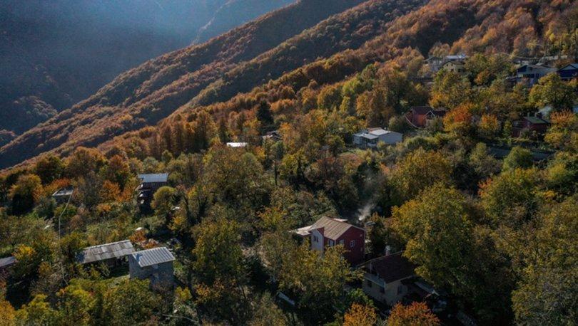 Uludağ'ın eteklerindeki 'Çalıkuşu'nun köyünde' sonbahar güzelliği