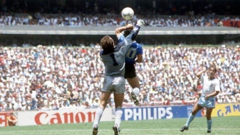 Eski İngiliz kaleci Shilton'dan Maradona'ya veda yazısı