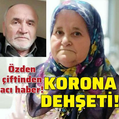 Karı kocadan acı haber! Korona dehşeti!