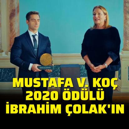 2020 Mustafa V. Koç ödülü sahibini buldu