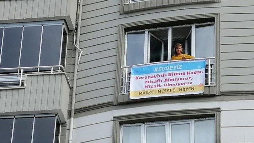 Son dakika korona haberleri: Misafire karşı pankart astı!