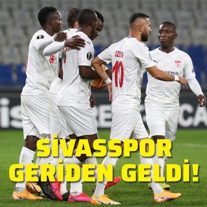 Sivasspor geriden geldi!