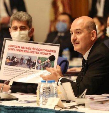 """Bakan Soylu'dan HDP'li vekillere: """"Sizden bir tek cümle istiyoruz"""""""