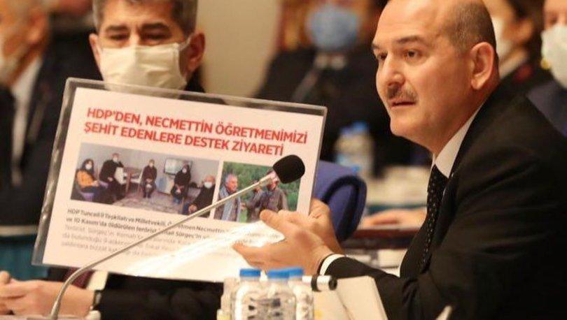 Bakan Soylu'dan HDP'li vekillere: 'Bu PKK'nın Allah belasını versin' diyeceksiniz