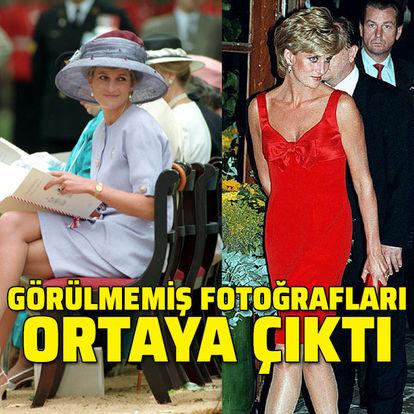 Lady Diana'nın görülmemiş fotoğrafları ortaya çıktı!