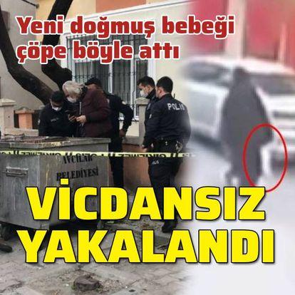 Vicdansız kadın yakalandı!