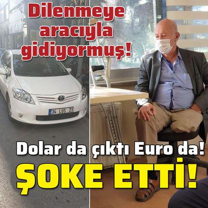 Otomobilli dilenci! Euro da dolar da çıktı!