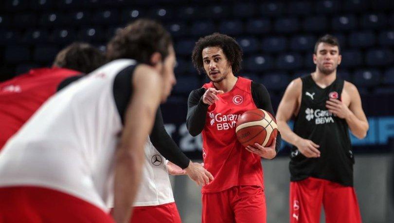 A Milli Erkek Basketbol Takımı'nın Hırvatistan maçı kadrosu belli oldu