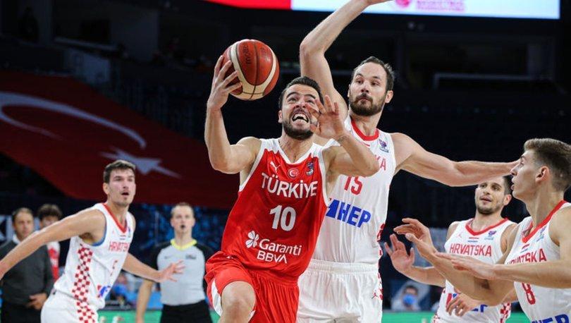 Hırvatistan: 79 - Türkiye: 62 (MAÇ SONUCU)