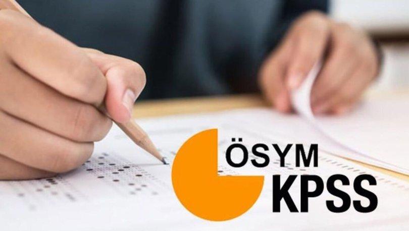 EKPSS sonuçları 2020! ÖSYM EKPSS 2020 kura başvuru şartları ve kılavuzu! ÖSYM giriş ekranı!