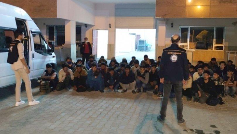 Bitlis Tatvan'da 36 düzensiz göçmen yakalandı