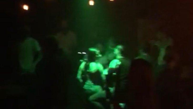 İstanbul'da tedbirleri hiçe sayan kaçak gece kulübüne korona baskını