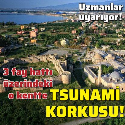 Üç fay hattı üzerindeki kentte tsunami korkusu!