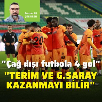 """""""Terim ve Galatasaray kazanmayı bilir"""""""