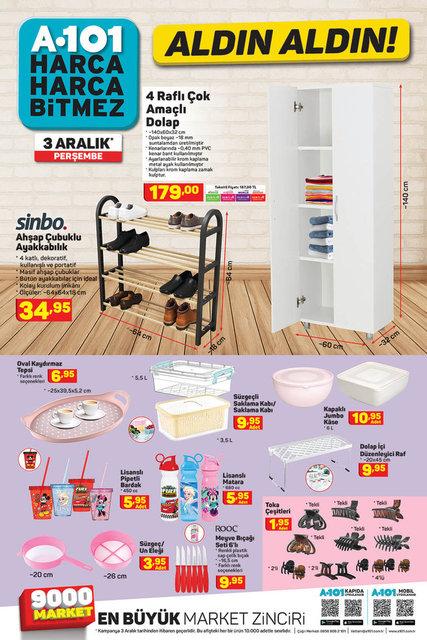 A101 BİM aktüel ürünler kataloğu! 1 Aralık - 3 Aralık Kasım A101 BİM aktüel ürünler kataloğu! İşte tam liste
