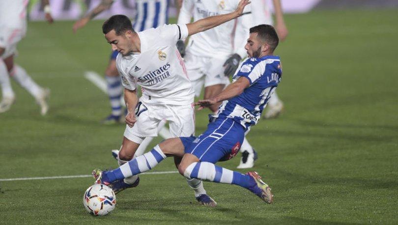 Real Madrid: 1 - Alaves: 2 MAÇ SONUCU