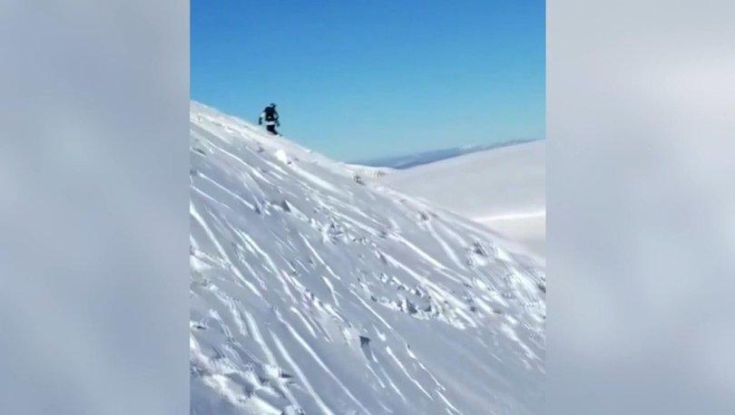 Son dakika: ABD'de korkutan anlar: Kayakçılar çığ altında kalmaktan son anda kurtuldu - Haberler