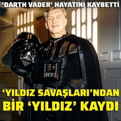 'Darth Vader' hayatını kaybetti