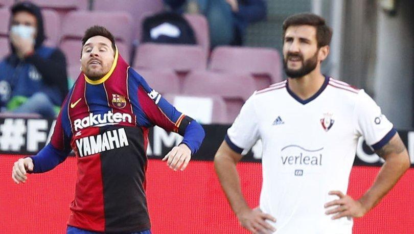Lionel Messi'den Maradona'ya selam! Formayla sevindi