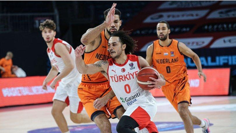 Türkiye 73 - 71 Hollanda! İşte milli takım basketbol maçı özeti