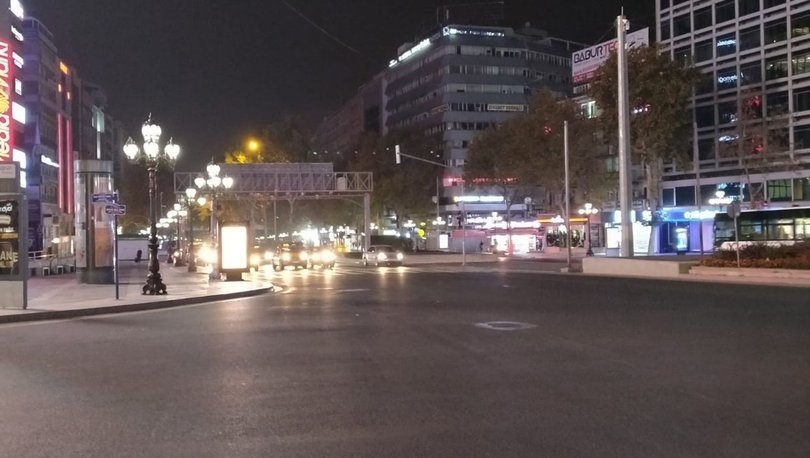 Son dakika haberi: Sokağa çıkma kısıtlaması başladı! Yarın saat kaça kadar yasak var? - Haberler