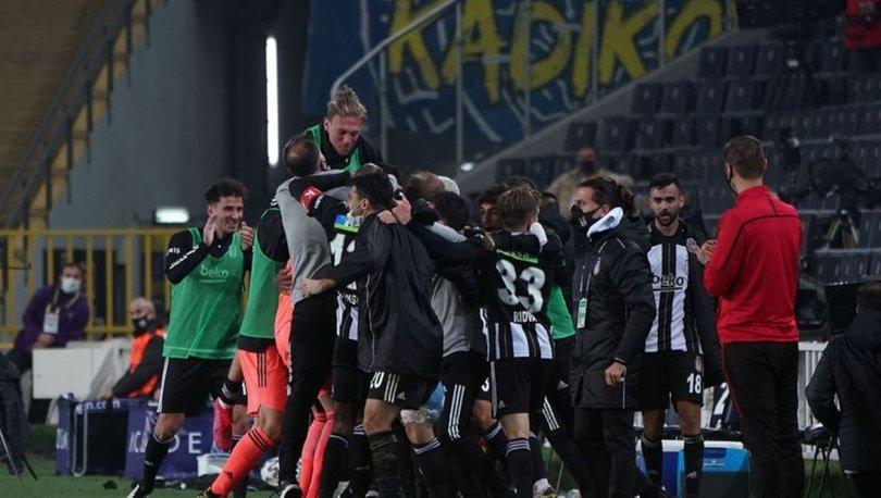 SON DAKİKA! Fenerbahçe 3-4 Beşiktaş! FB BJK maçı özeti! Kadıköy'de goller yağmur gibi...