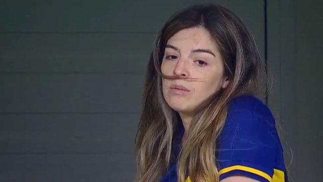 Maradona'nın kızı Dalma gözyaşlarını tutamadı - Haberler