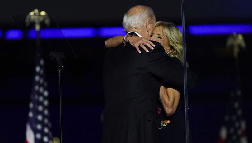 ABD başkanlığına seçilen Joe Biden köpeği ile oynarken ayağını incitti
