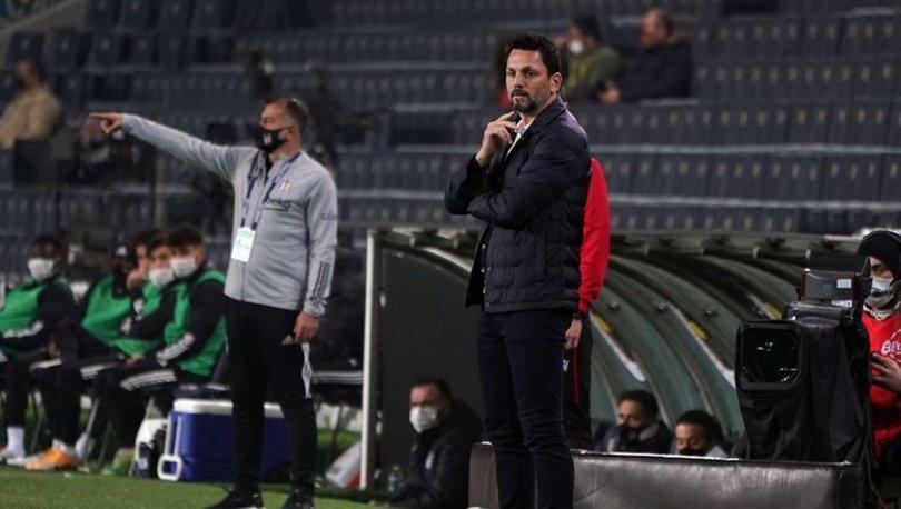 Erol Bulut, Beşiktaş'ı yine yenemedi!