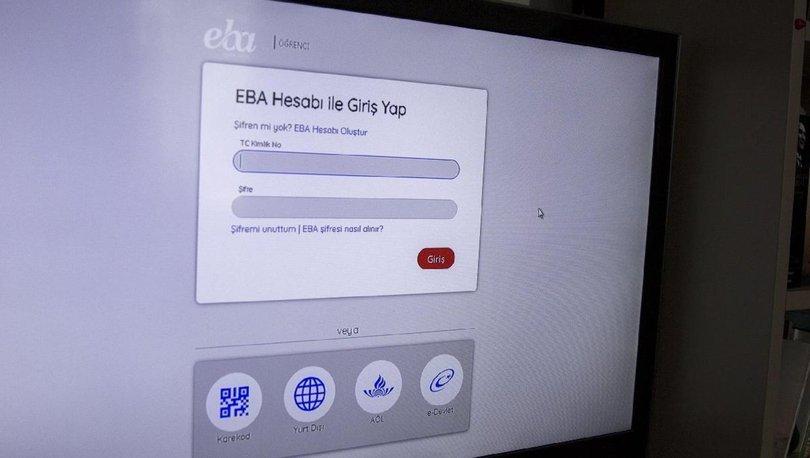 EBA çöktü mü? TRT EBA TV neden açılmıyor? EBA'ya erişim neden yok?