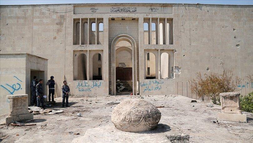 DEAŞ'ın harabeye çevirdiği Musul müzesi altı yıl aradan sonra yeniden kapılarını açtı