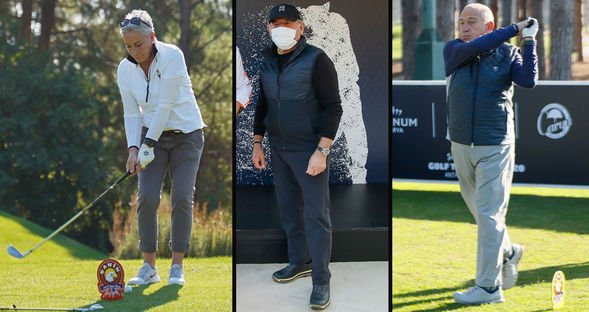 Golf tutkunları Antalya'da...