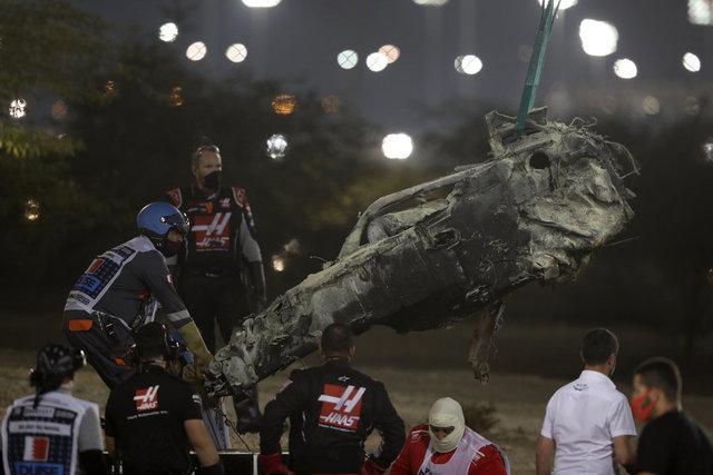 Son dakika: Formula 1 doktoru Grosjean ölümden döndü!