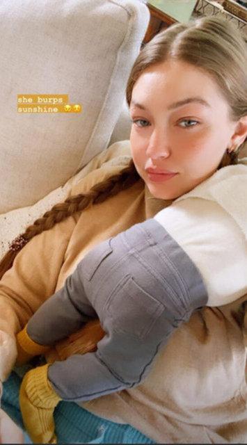Son dakika: Gigi Hadid'den ilk hamilelik fotoğrafı