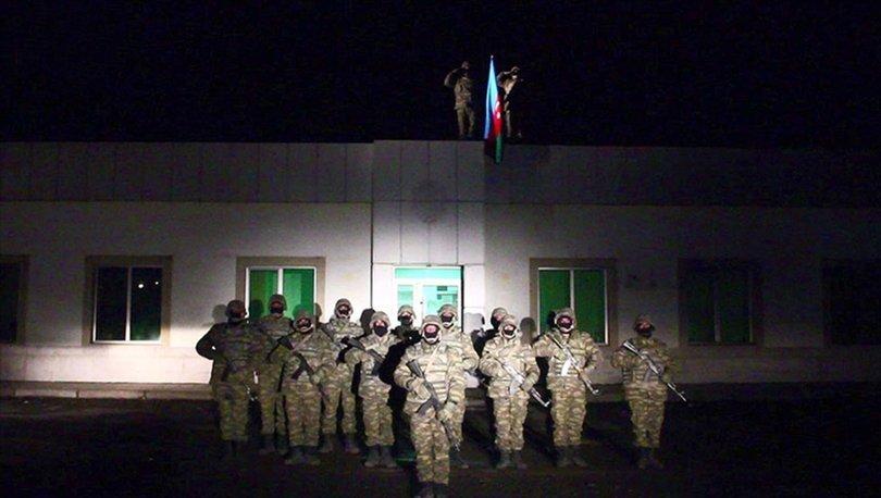 Son dakika: Ermenistan'a verilen süre dolmuştu: Azerbaycan ordusu Laçın'a bayrak dikti! - Haberler