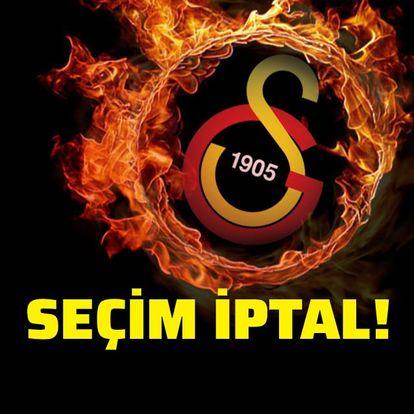 Galatasaray'da seçim iptal edildi!