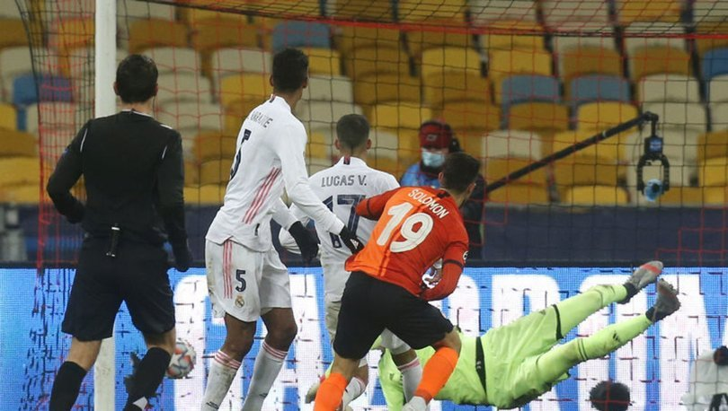 Shakhtar: 2 - Real Madrid: 0 MAÇ SONUCU