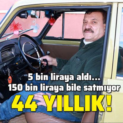 5 bin liraya aldı, 150 bin liraya satmıyor... 44 yıllık!