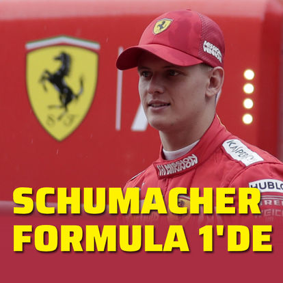Michael Schumacher'in oğlu Formula 1'de!
