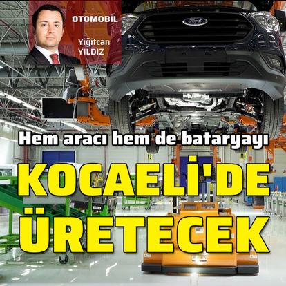 Kocaeli'ye 'batarya fabrikası' kuruyor