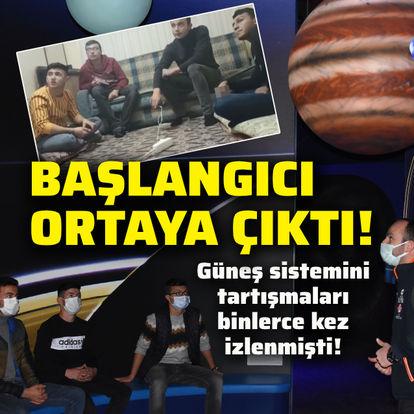 Güneş sistemi tartışmasının başlangıcı ortaya çıktı!