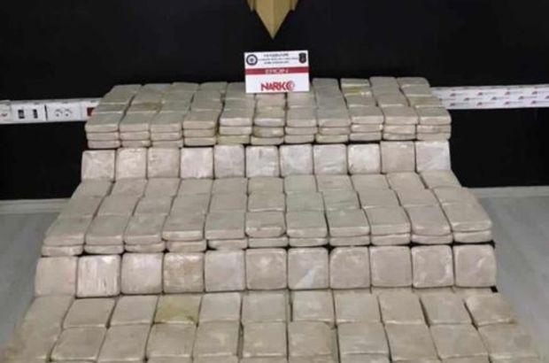 Hakkari'de 100 kilodan fazla uyuşturucu ele geçirildi