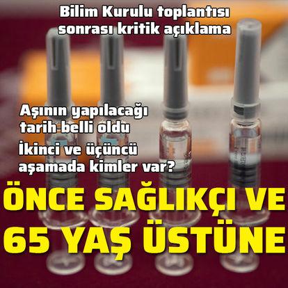 SON DAKİKA! Sağlık Bakanı Fahrettin Koca'dan aşı uygulamasıyla ilgili önemli açıklamalar