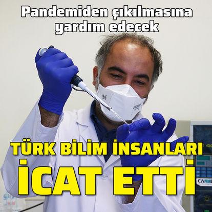 Türk bilim insanları icat etti! Pandemiden çıkılmasına yardım edecek